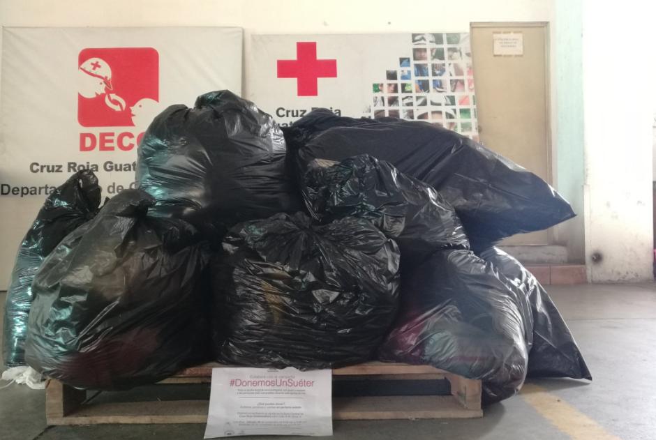 Los donativos son distribuidos en diversos puntos de la capital. (Foto: Cruz Roja)
