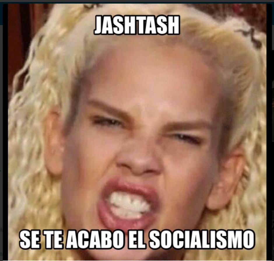 Hasta Niurka Marcos apareció en esta serie de memes. (Foto: Twitter)