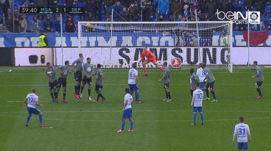"""Esta es la definición de """"al ángulo"""". (Captura de Pantalla/BeIn Sports España)"""
