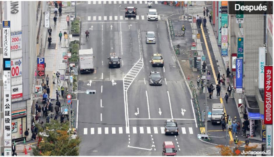 La calle reparada parece tener algunos defectos que ponen en riesgo a los conductores. (Foto: CNN)