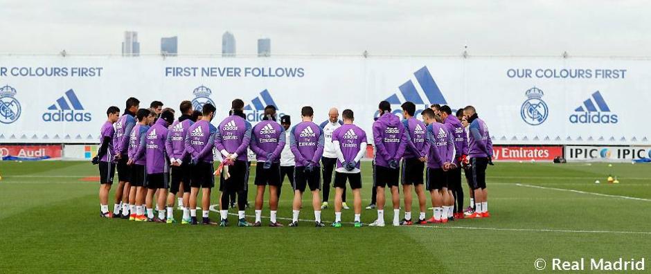 El Real Madrid también hizo su respectivo minuto. (Foto: Real Madrid)