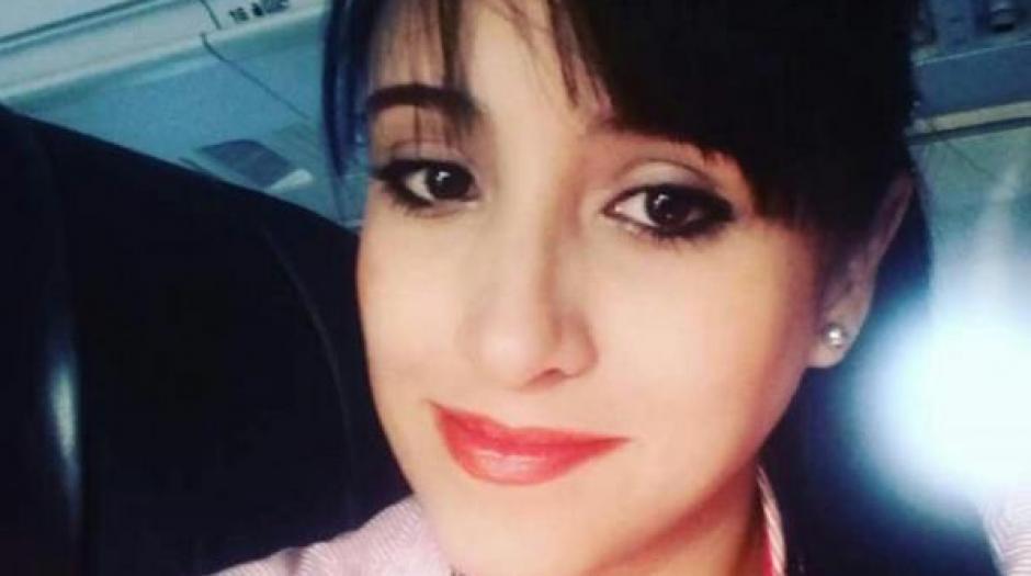 Ximena Suárez, la tripulante que sobrevivió. (Foto: Infobae)