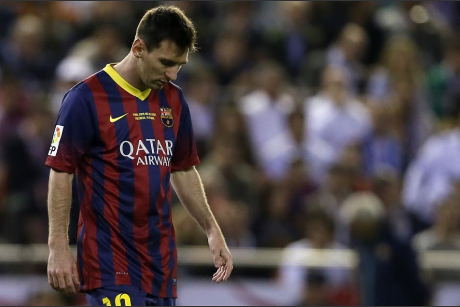 Messi, con el último uniforme con el que marcó en un clásico. (Foto: 101GreatGoals)