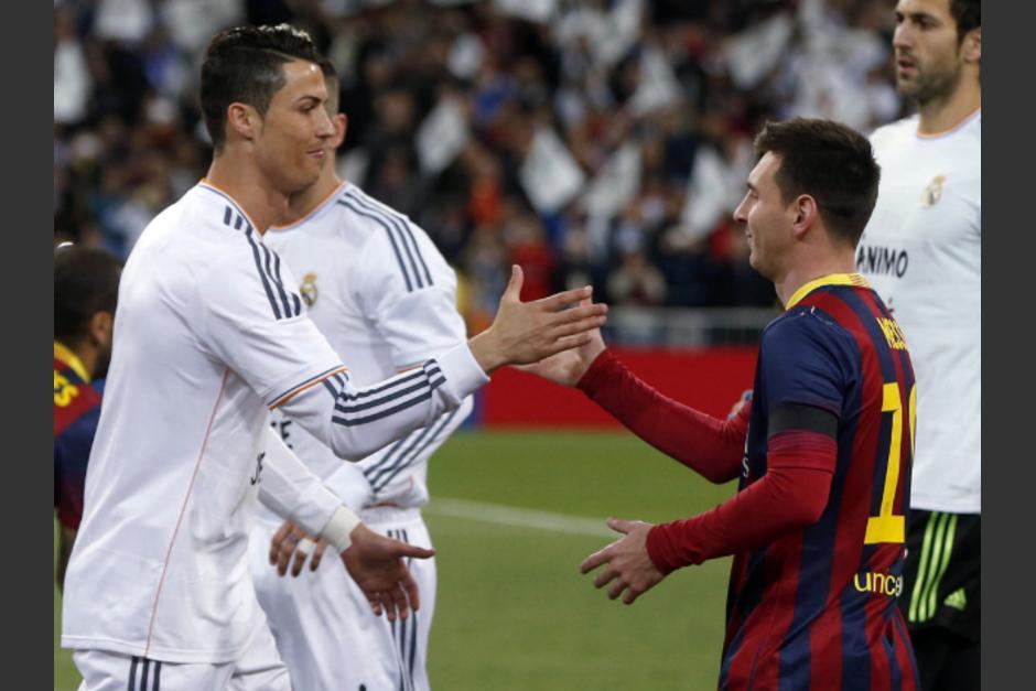 ¿Cómo hubiera sido un equipo con CR7 y Messi? (Foto: Eurosport)