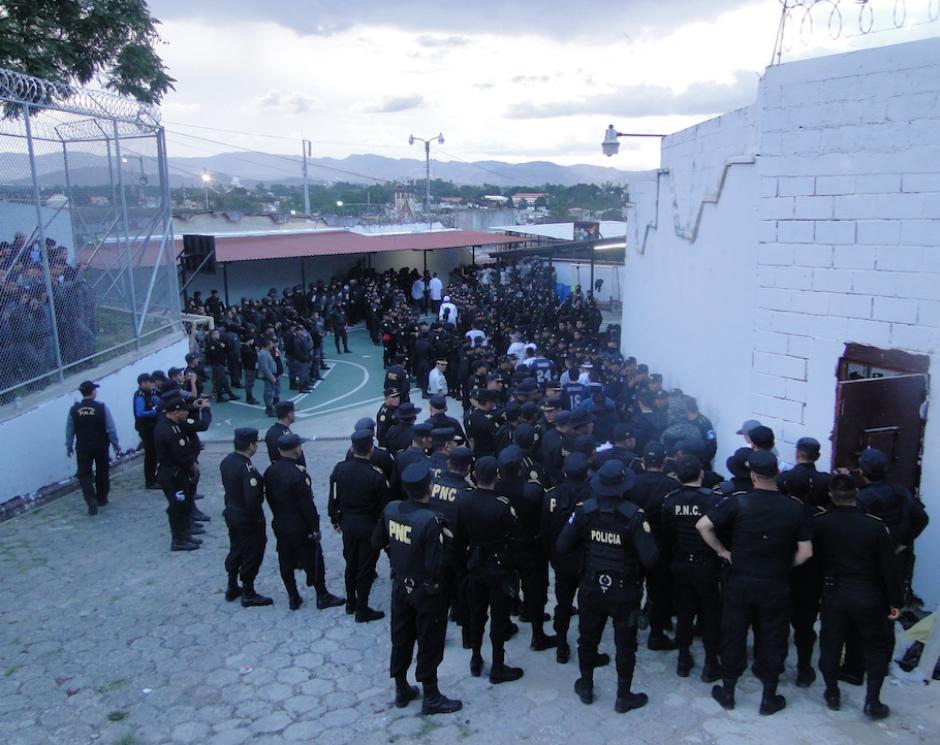 Presidios implementó nuevos dispositivos de seguridad en el Preventivo para Hombres de la zona 18. (Foto: Sistema Penitenciario)