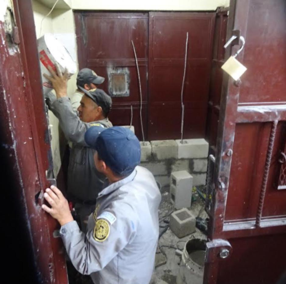 Los reclusos del sector once permanecen en sus celdas y fueron cerradas varias puertas que tenían libres. (Foto: Sistema Penitenciario)