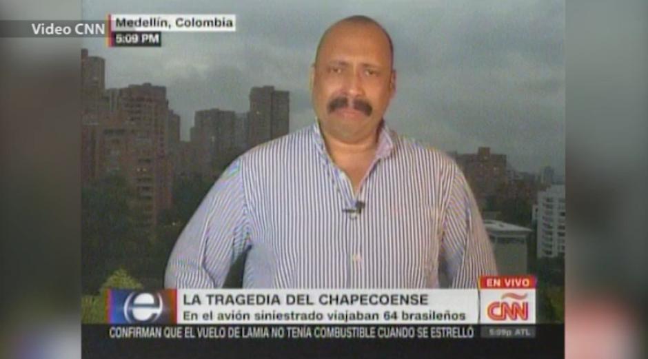 Fernando Ramos corresponsal de CNN llora en vivo