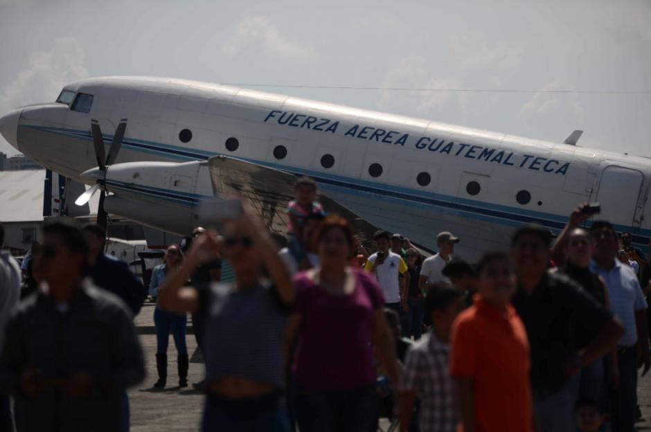 La Fuerza Aérea Guatemalteca cumple 95 años de su fundación. (Foto: Wilder López/Soy502)