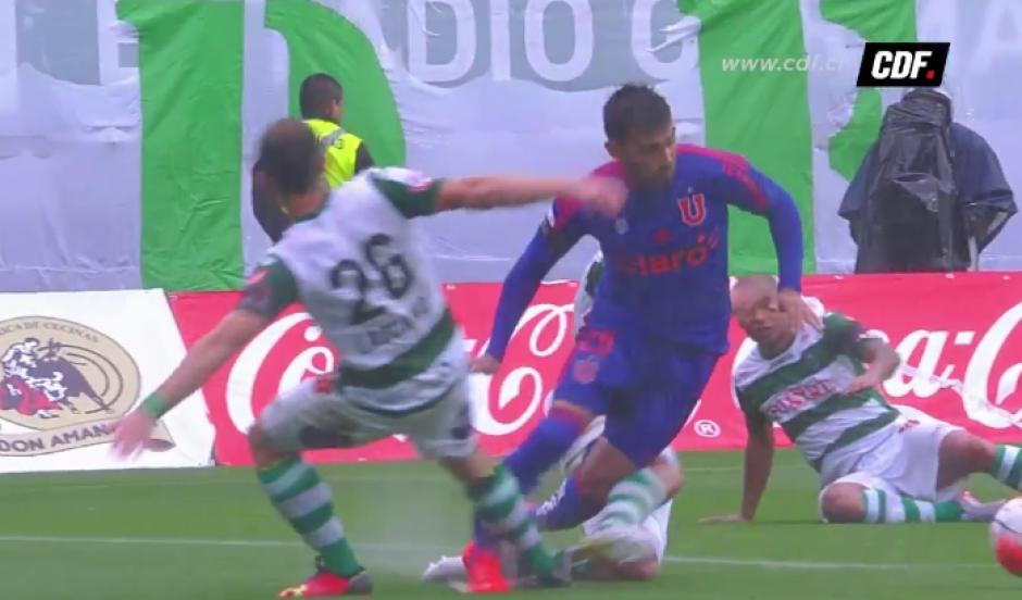 Las imágenes de la lesión del jugador argentino son escalofriantes
