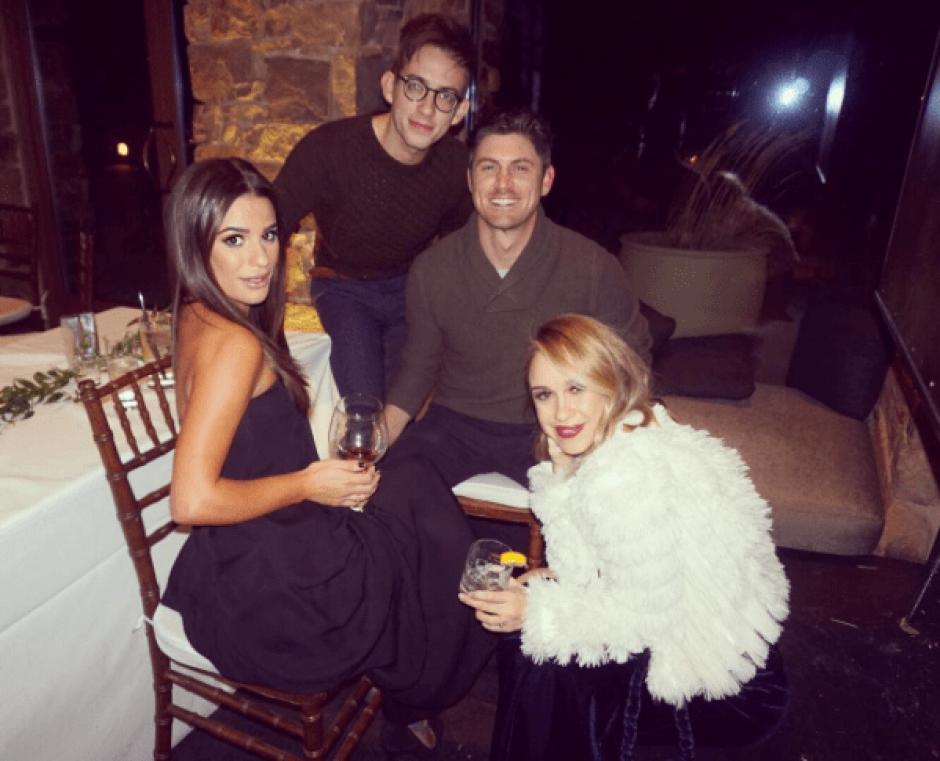 Leah Michele subió las fotografías a su cuenta de Instagram. (Foto: @leamichele/Instagram)