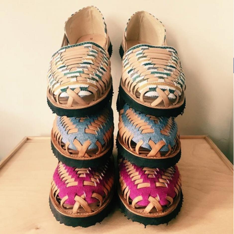 Las sandalias Ix Style han llegado a prestigiosas tiendas. (Foto: Instagram Ix Style)