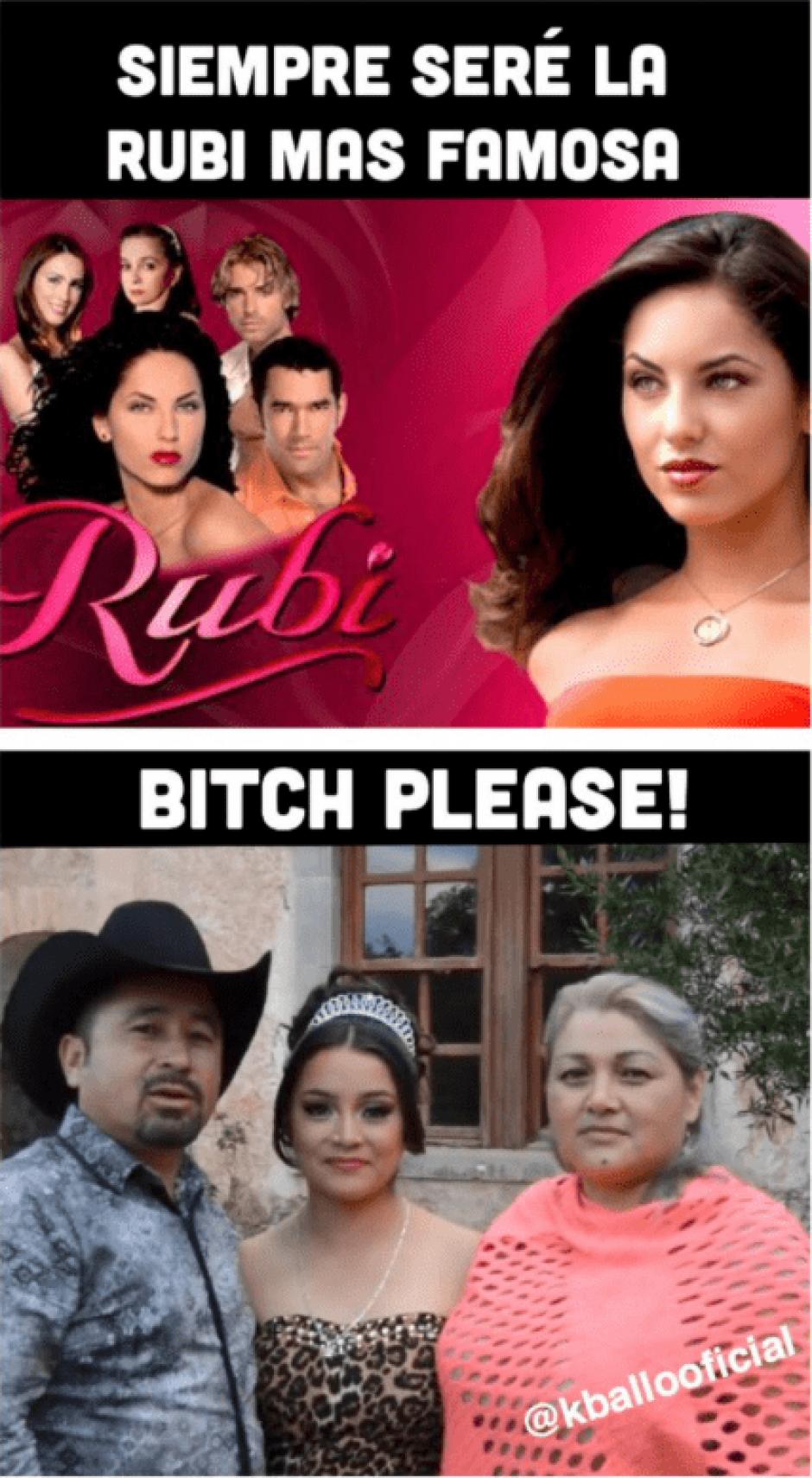 Rubí se volvió famosa en las redes sociales. (Foto: Xv Años De Ruby En San Luis Potosi/Facebook)