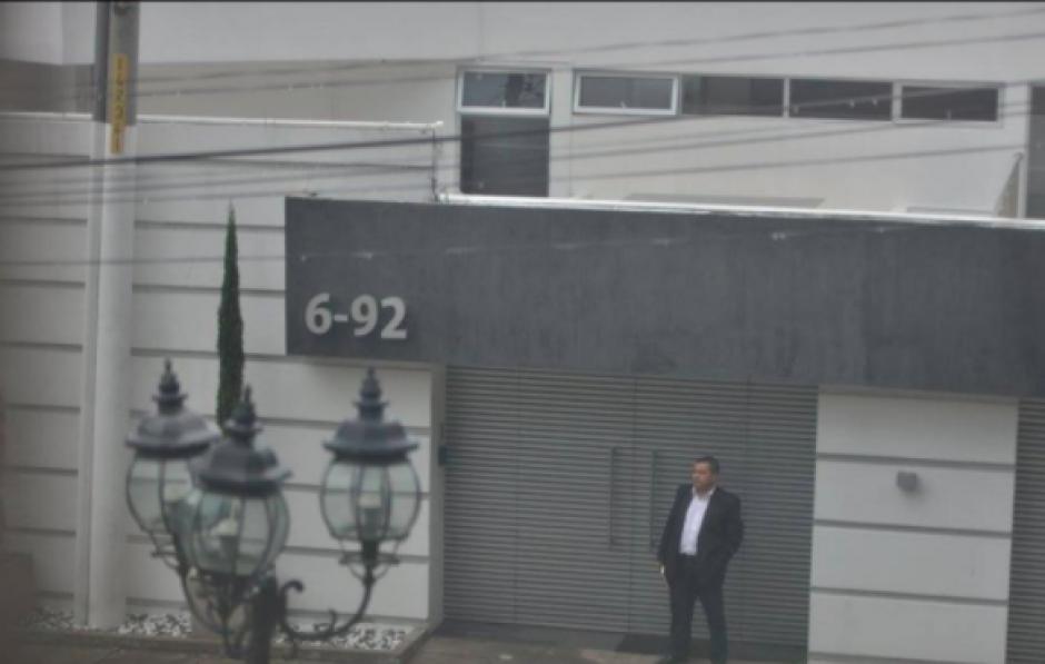 La casa en la que vivía Baldetti, se ubica en el Residencial Los Eucaliptos, Santa Catarina Pinula. (Foto: Archivo/Soy502)