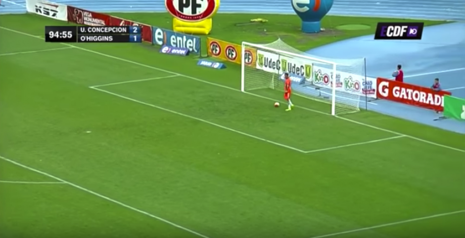 El gol sentenció el choque con un 3-1. (Imagen: captura de pantalla)