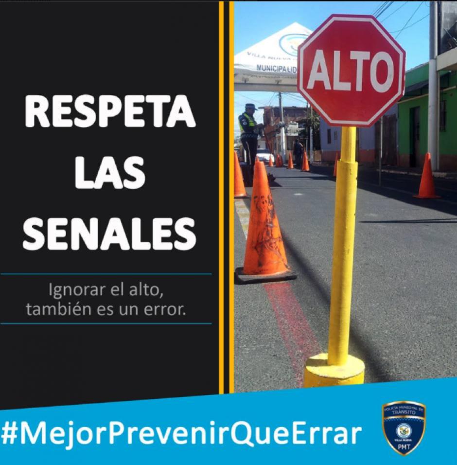 La novedosa campaña salió en las redes sociales el pasado 1 de diciembre. (Imagen: Municipalidad de Villa Nueva)
