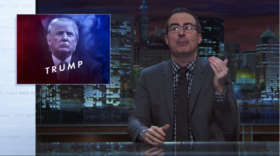 John Oliver habló sobre Donald Trump en su programa Last Week Tonight. (Imagen: captura de YouTube)