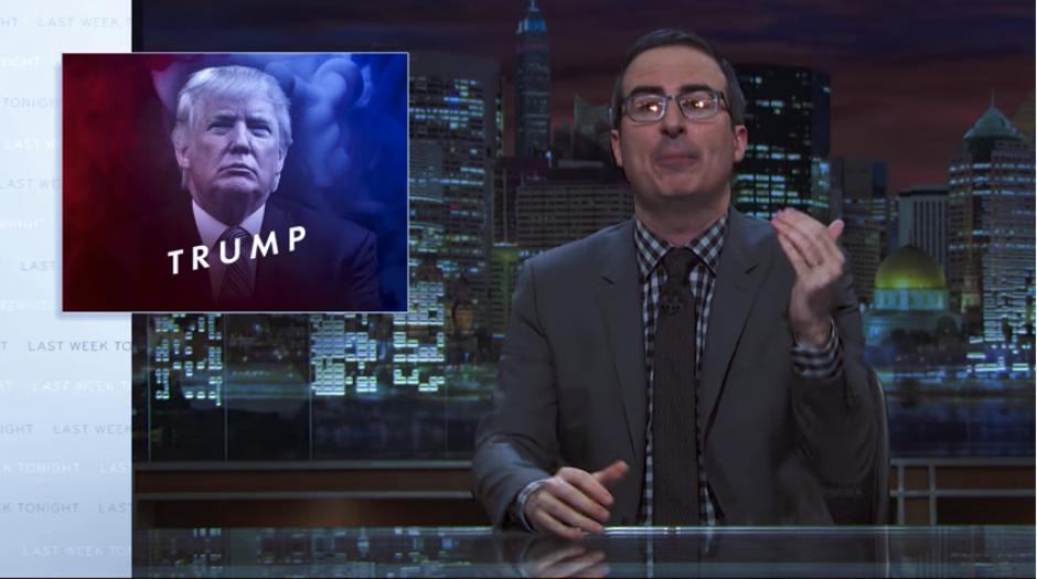 John Oliver habló sobre Donald Trump en su programa Last Week Tonight. (Imagen: captura de YouTube)