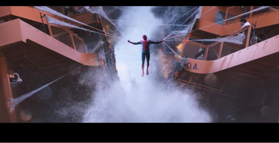 El filme tiene toques ochenteros a petición de Marvel y Disney. (Captura Youtube)