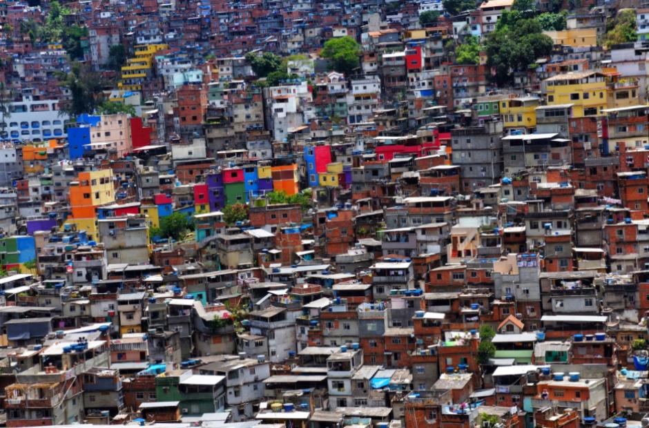 Una favela de Río de Janeiro. (Foto: Wikipedia)