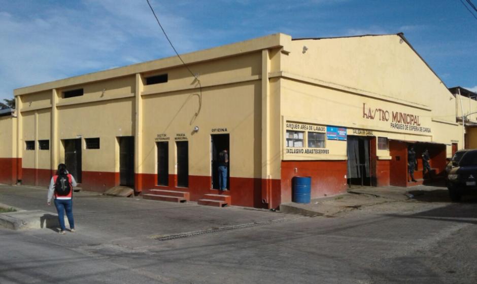 El otro rastro allanado, presuntamente municipal, está ubicado en Santa Catarina Pinula. (Foto: MP)