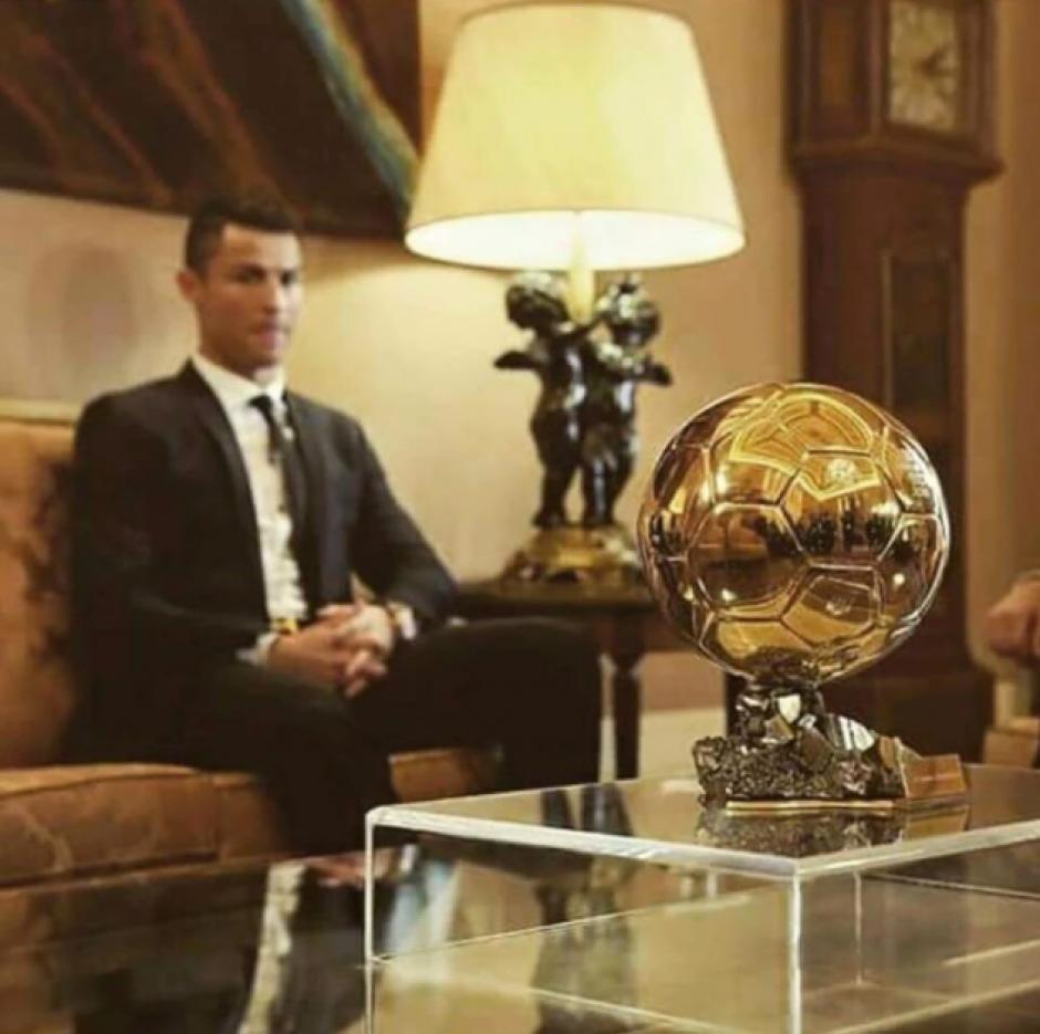 El portugués ya sabía que era el ganador. (Foto: Real Madrid)