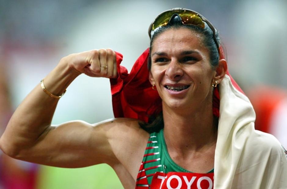 Ana Guevara fue medallista olímpica y ahora es senadora. (Foto: Twitter)