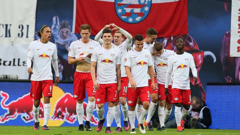 El RB Leipzig ascendió y de pronto era líder. (Foto: FOX Soccer)