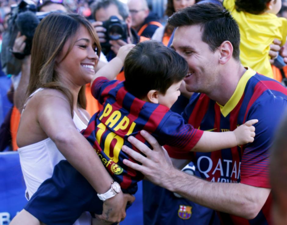 Tienen dos hijos, Thiago y Mateo. (Foto: Mundo Deportivo)