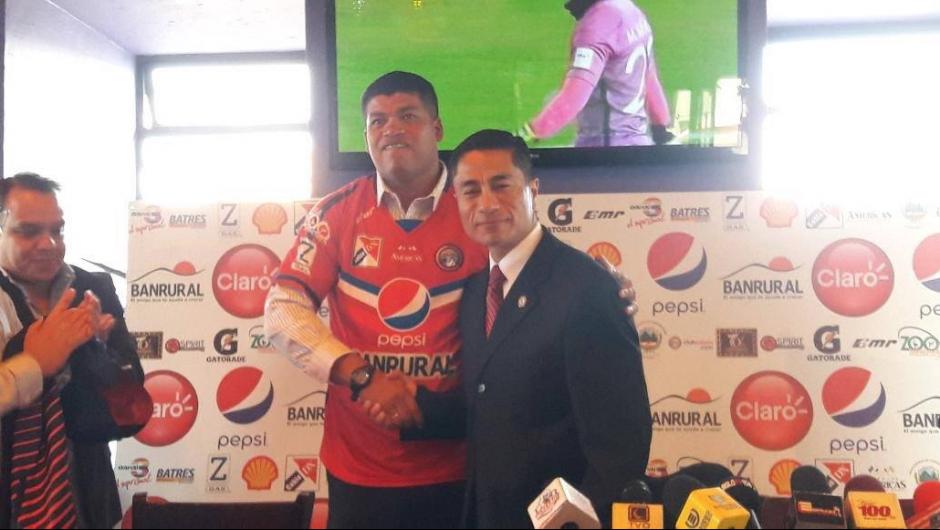 """""""La Bala"""" firmó por un año. (Foto: Xelajú MC)"""