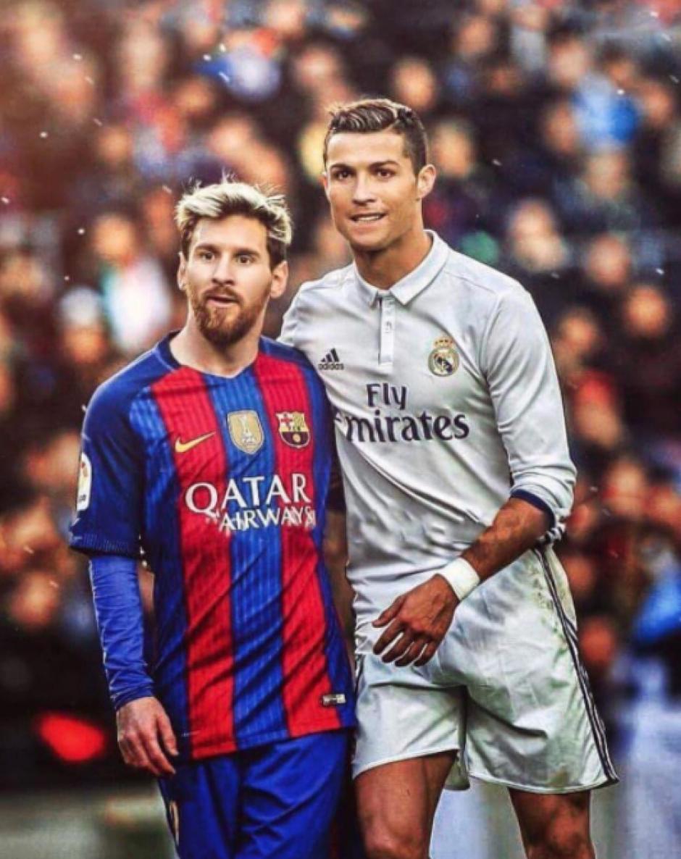 Son rivales en el campo, pero fuera de él se tratan con respeto. (Foto: Twitter)