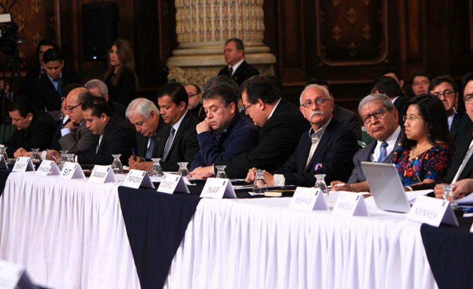 En la reunión participaron varias instancias y organismos de análisis. (Foto: AGN)