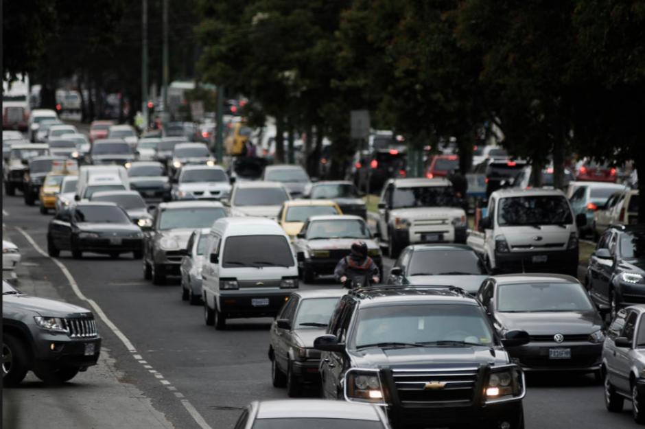 Se espera un viernes complicado en el tráfico. (Foto: Archivo/Soy502)