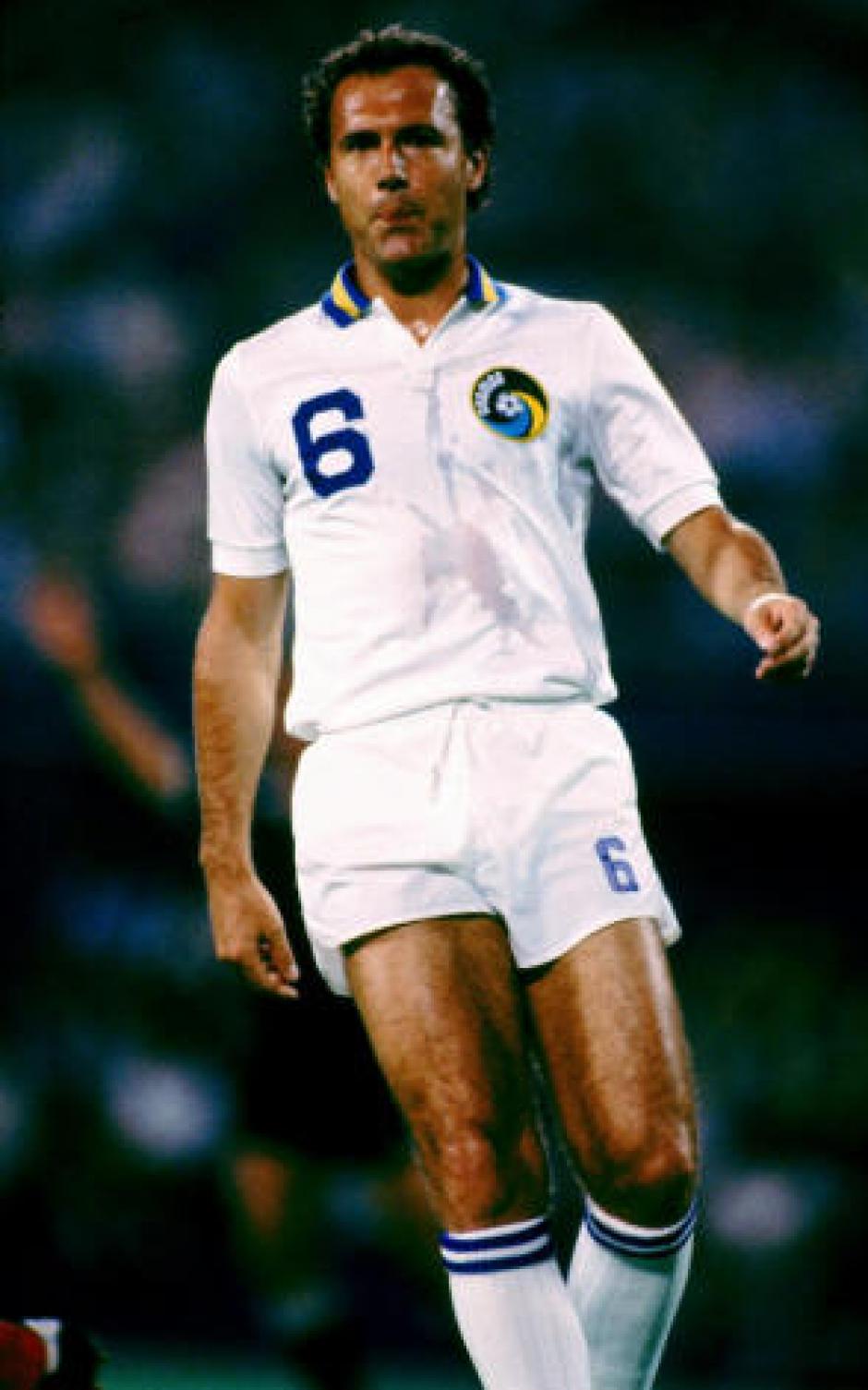 Franz Beckenbauer también terminó su carrera en la Gran Manzana. (Foto: Wikipedia)