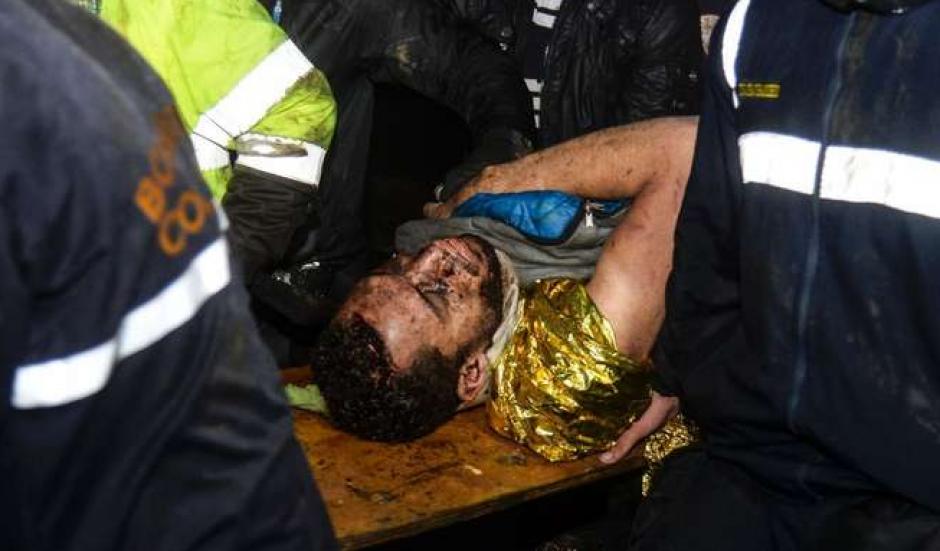 El brasileño está vivo de milagro. (Foto: AFP)