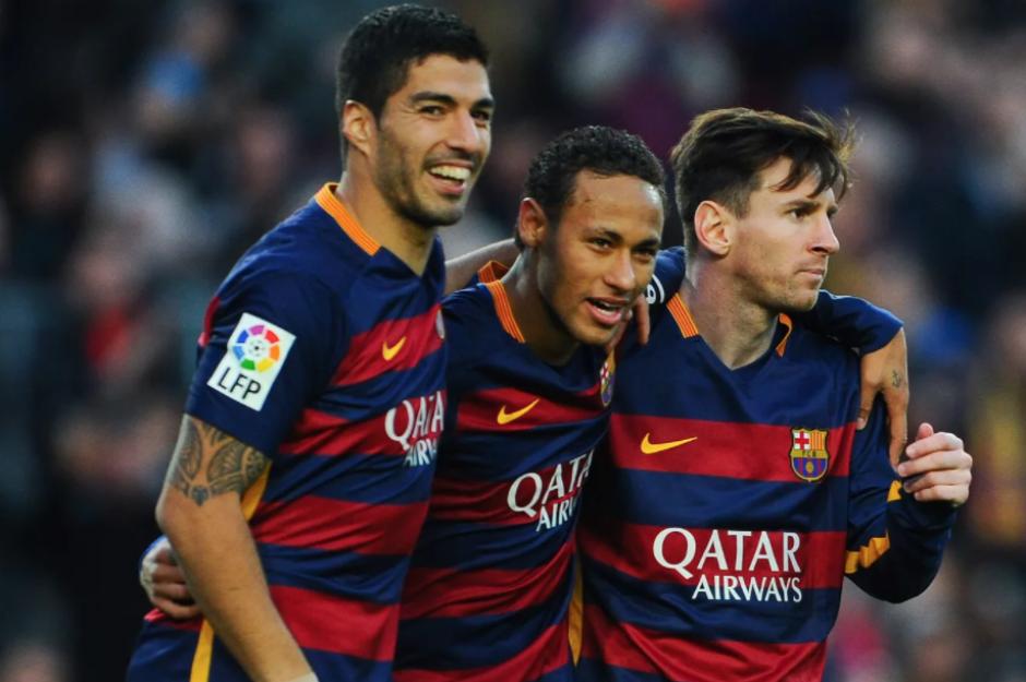 Los tres jugadores son amigos dentro y fuera del campo. (Foto: 101GreatGoals.com)