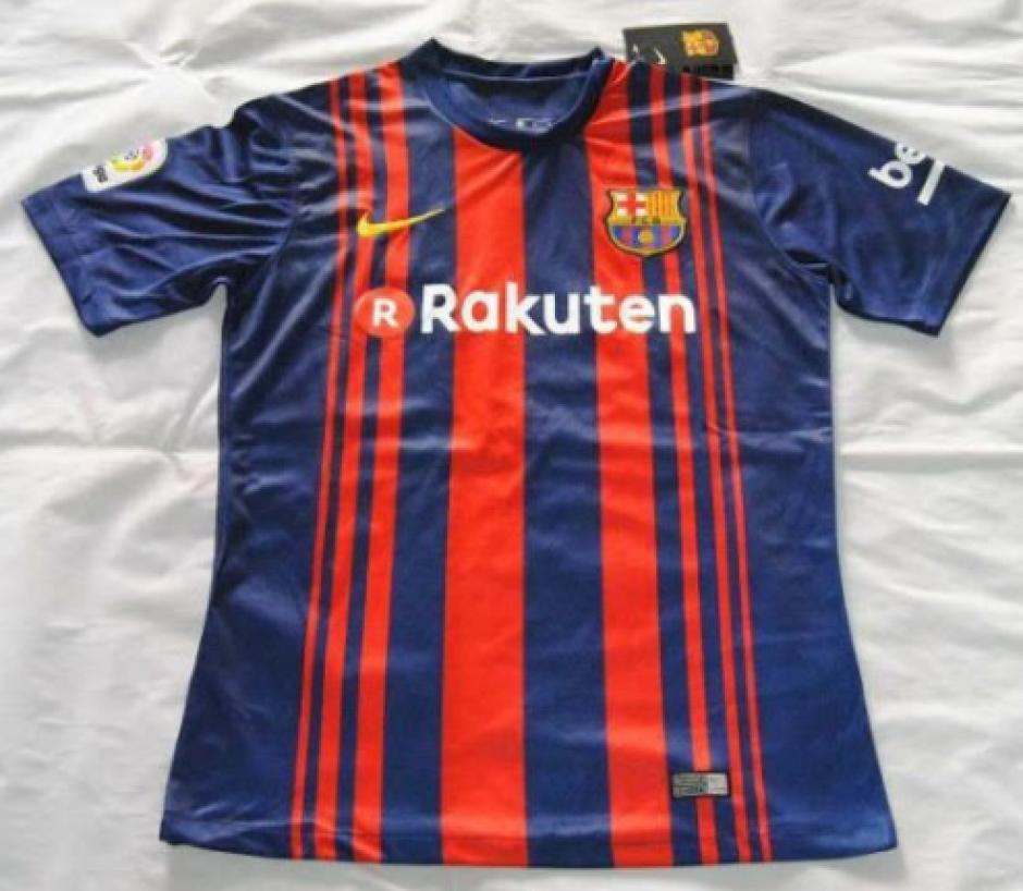 Así sería la nueva camiseta del FCB. (FootyHeadlines)
