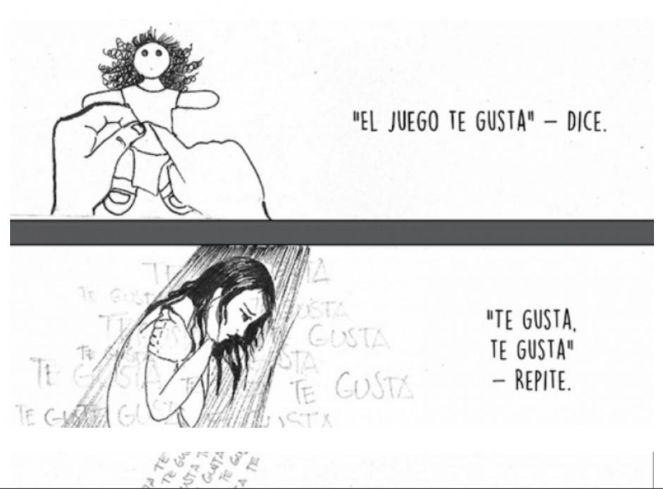 Una migrante guatemalteca contó su historia por medio de un cómic. (Foto: Captura/#YoTeCreo/Facebook)