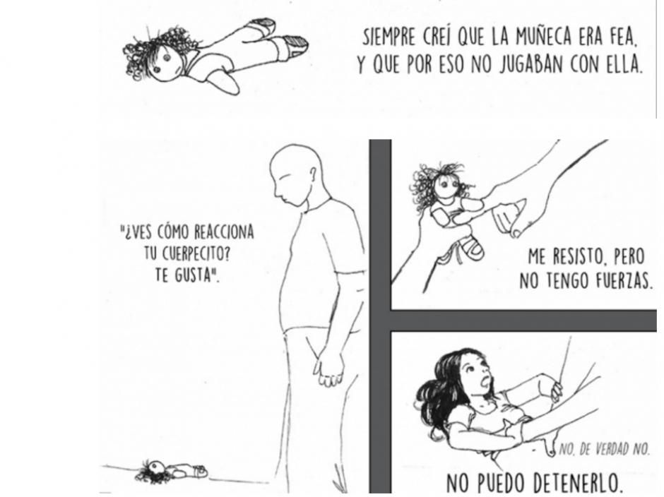 En España un profesor que le recibió abusó de ella. (Foto: Captura/#YoTeCreo/Facebook)