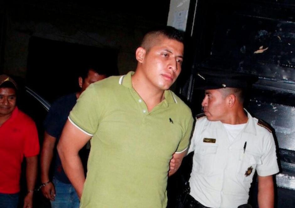 Pablo David Guevara Roca fue capturado por haber sepultado a su hermano de manera ilegal para esconder el cuerpo. (Foto: PNC)