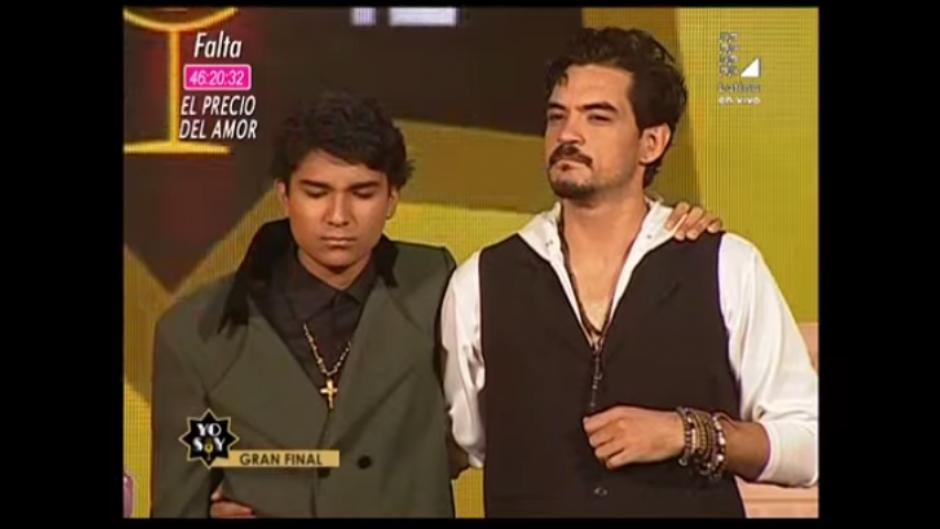 """""""Arjona"""" y """"José José"""" fueron los finalistas del concurso. (Captura Youtube)"""