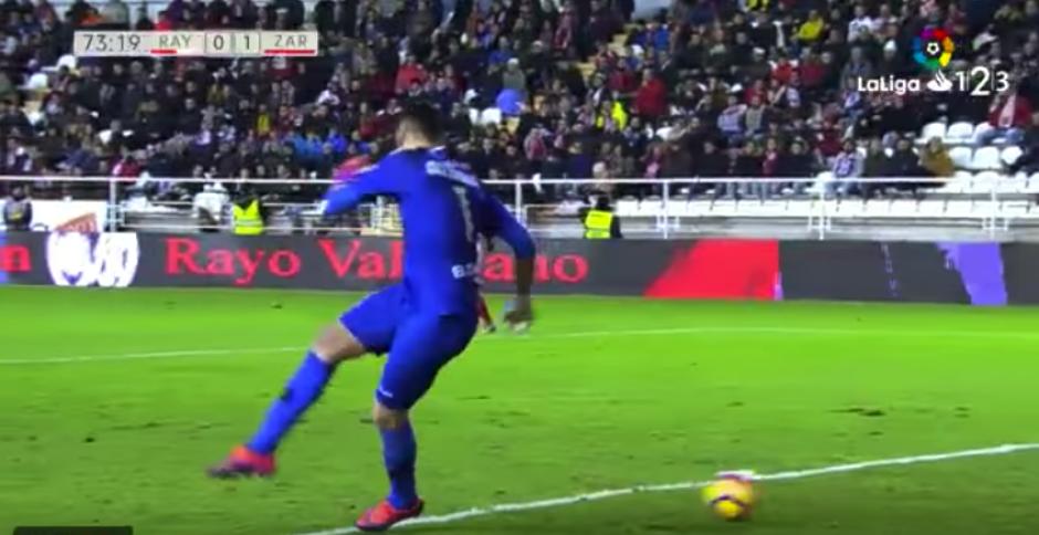"""""""Strike"""" y gol. (Captura de Pantalla)"""