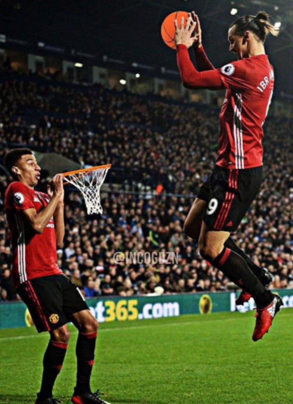 ¿Zlatan Jordan? (Foto: Twitter)
