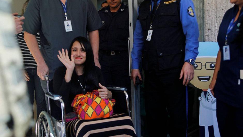 Ximena ya está en Bolivia. (Foto: Twitter)