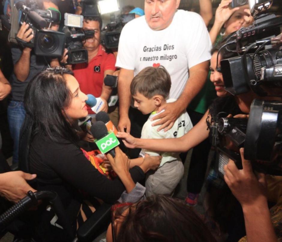 Su hijo Tiago tiene 6 años. (Foto: Twitter)