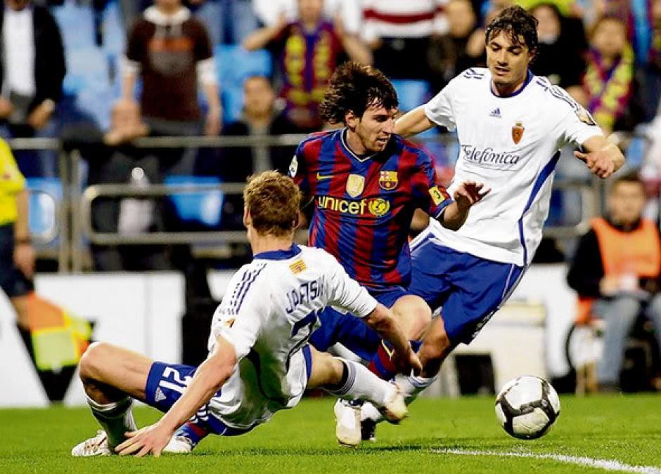 El Zaragoza fue otra víctima del argentino. (Foto: Archivo Marca)