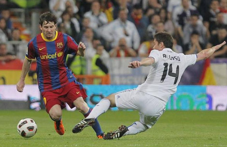 Messi le marcó uno así al Real Madrid en la Champions. (Foto: Archivo AS)