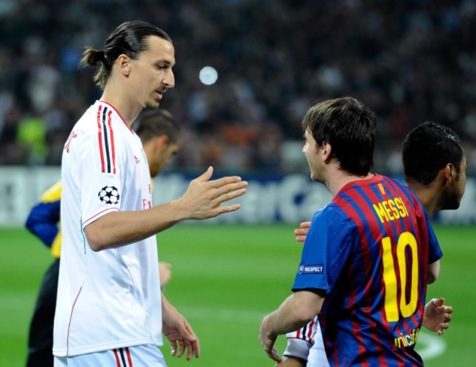 Sin embargo, esta vez el sueco no dijo nada sobre Leo. (Foto: Gazzetta.it)