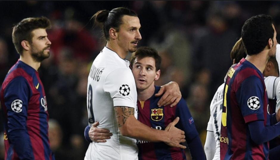 Ibra y Messi siempre se han llevado bien. (Foto: Sport)