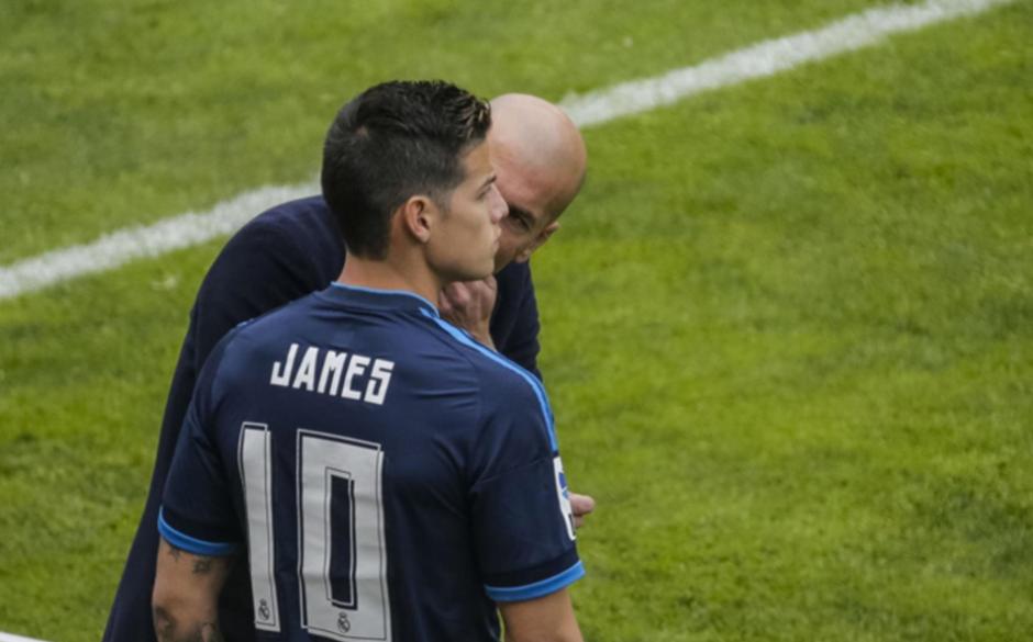 El colombiano no tiene una buena relación con Zidane. (Foto: AFP)