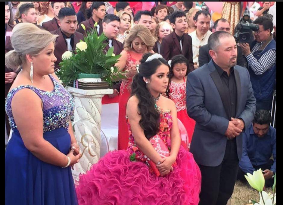 El evento se viralizó en redes sociales. (Foto: Twitter/#XVDeRubí)